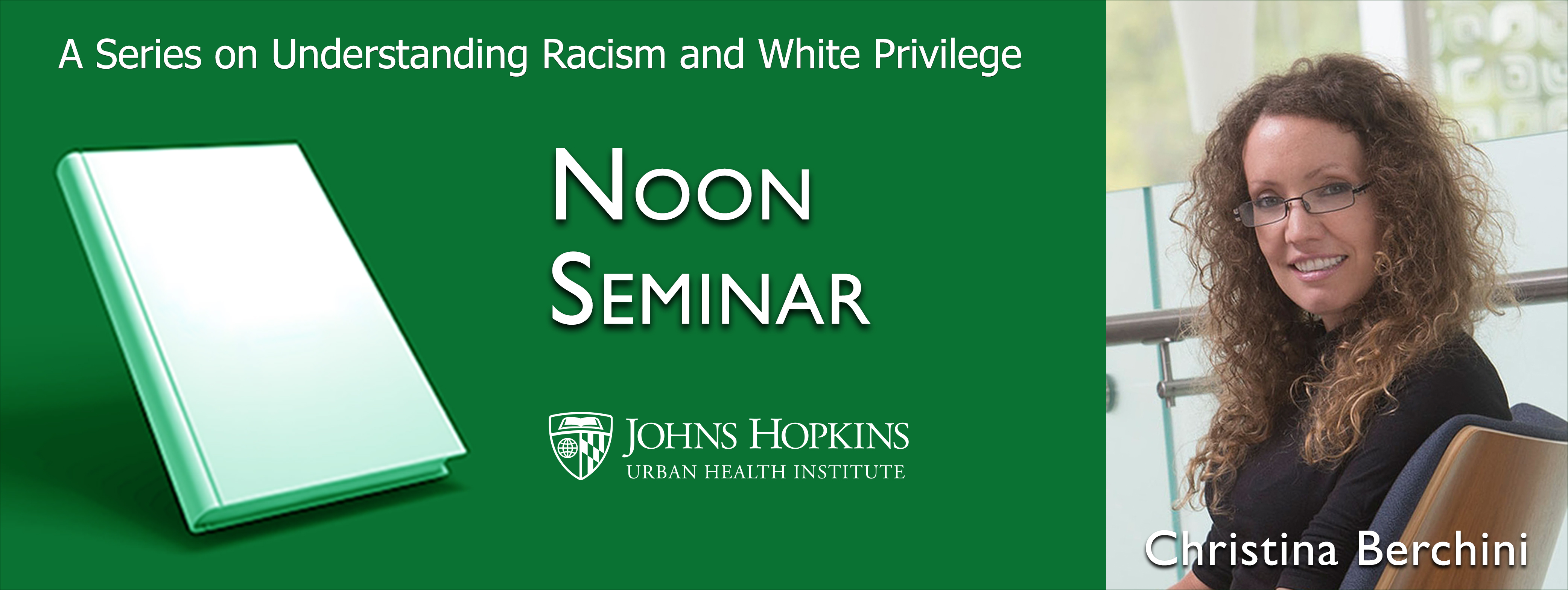Noon Seminar with Christina Berchini